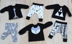 monochrome babywear