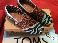 Toms by Karen Laughlin Hand Painted Toms, Silver Shoes, Sneakers, Fashion, Tennis, Moda, Slippers, Fashion Styles, Sneaker