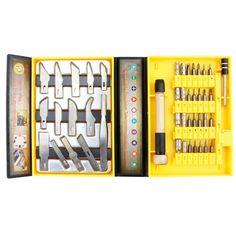 [$6.65] JF-6097C 45 in 1 Multip Urpose Screwdriver Repair Open Tool Kit