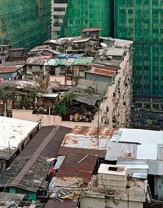 Hong Kong rooftop slums