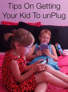 How to get your kid to unplug from their electronic devices and get active with the family via #FamilyMobile #shop.