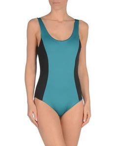 ¡Cómpralo ya!. ONIA Bañador mujer. tejido sintético, sin aplicaciones, estampado bicolor , bañador, bañadores, swimsuit, monokini, maillot, onepiece, one-piece, bathingsuit. Bañador  de mujer color turquesa de ONIA.