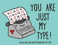 15 Valentine's Puns to Make You LOL in Love Funny Puns, Typewriter, Cute Puns, Puns, Funny Pranks