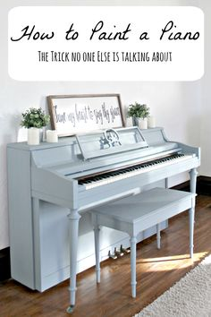 Who's ready to paint a piano?! I'm guessing if you stumbled upon this post it's because you are. And I'm guessing you're also a little nervous, right? I mean, its a huge project, is it not? Not to mention a somewhat controversial one. It's okay, admit your fears. This is a safe place. You see, I was …