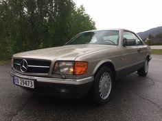 Mercedes-Benz Andre 500 SEC 1985, 104 529 km, kr 169 000,-