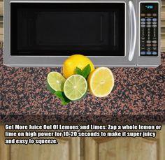 making lemons juicier