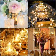 decoration lumineuse de table