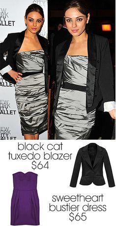 blazer+dress