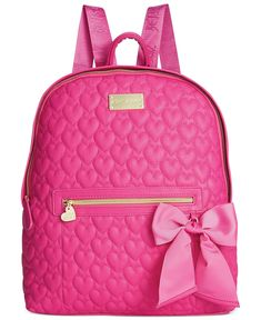 Betsey Johnson Quilted Backpack... ANOTHER CUTE BACKPACK<3