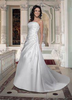 Da Vinci Wedding Gown ~ Breath Taking Shape ~ Lasting Impressions Sioux Falls, SD