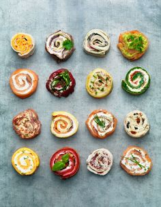 pinwheel styling, by Monica Eisenman  great for entertaining ideas, appies