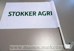Autolippu kiinnityksellä Stokker Agri http://www.mainos.marketing/fi/pildid/Mainosliput/