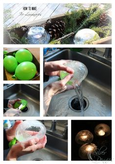 How to Make Ice Luminaries this winter - a step by step tutorial.