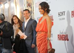"""Zoe Saldana Photos: Premiere Of Sony Pictures Releasing's """"Death At A Funeral"""" - Arrivals"""