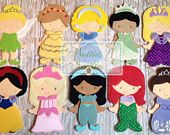 Princess Outfit Set: 1 Doll and Outfits only