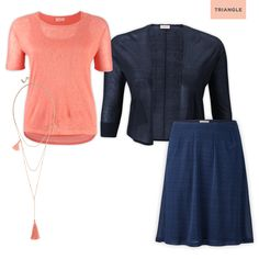 Check out 1 shirt - 3 styles #skirt #fashion