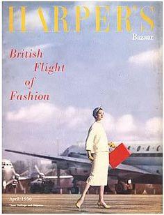 British #Harper's Bazaar  April 1956