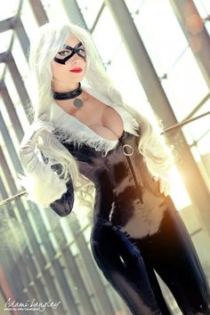 cosplayheaven69:  Goddess of Cosplay: gorgeous Adami Langley is an amazing Black Cat. Photo by Julio Cavalcanti.