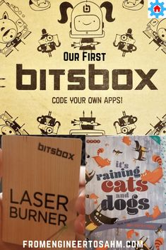 Our first Bitsbox was a great introducation to programming apps. A must try for kids interested in learning to code! Math Activities For Kids, Steam Activities, Teaching Kids, Big The Cat, Coding Languages, Secondary Teacher, 8th Grade Math, Stem Learning, Make It Rain