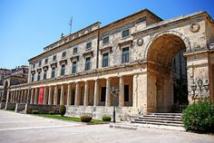 the palace of s michael + s george, corfu old town | Flickr - Photo Sharing!