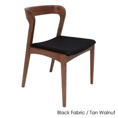 Quirky and oh so modern, the Nuevo Bjorn Fabric Dining Side Chair - Set of 2 feels at home in your dining room. You get two armless dining side. Contemporary Dining Chairs, Solid Wood Dining Chairs, Upholstered Dining Chairs, Dining Chair Set, Wooden Chairs, Furniture Chairs, Dining Area, Arrange Furniture, Dining Table