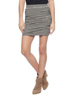 Ruched Mini Skirt from Splendid on Catalog Spree