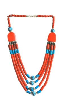 Hand made African style necklace from www.fashionboutique.co.za