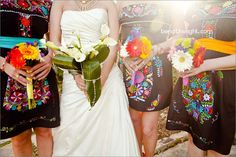Yes, my bridesmaids are wearing these on February 4th, 2012 Guanajuato, Mexico!