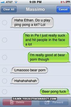 I too am really good at bear porn