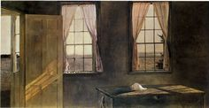 Andrew Wyeth - Her Room (1963)