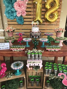 18 anos Flamingo Birthday, Flamingo Party, Fairy Birthday Party, Birthday Parties, Happy Birthday 18th, Birthday Girl Pictures, Birthday Goals, Birthday Decorations, Party Themes