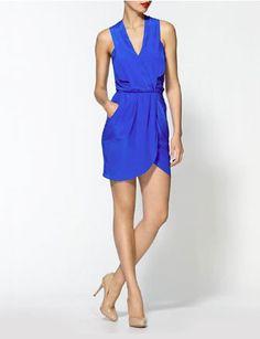 GREYLIN Maggie Silk Crepe Dress