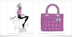 I love Megan Hess' art. Feminine, sexy, classy and to die for fashion! She is perfection! megan hess illustrator