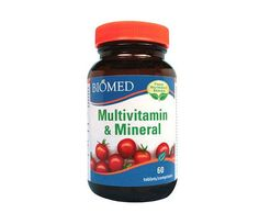 Multivitamin & Mineral 60 tablets (Food Nutrient Series) Multivitamin Mineral, Juicing, Nutella, Minerals, Healthy, Holiday, Desserts, Food, Products