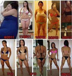 Fitness Before and Afters To Motivate You