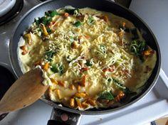 Omelette again