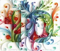 Quilling © Yulia Brodskaya (Searched by ChauKhang)