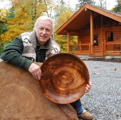 Long-time Canadian woodturner KEN BROADLAND of HEARTWOOD STUDIO salvages beautiful wood from around Vancouver Island and creates items which are both decorative and functional.  Specializing in salad bowls and servers, his delightful studio also offers snack bowls, lidded containers and urns, cutting-boards, coasters, live-edge bowls and vessels, utensils and utensil holders. See his work on www.guildtrip.com. Coming soon!