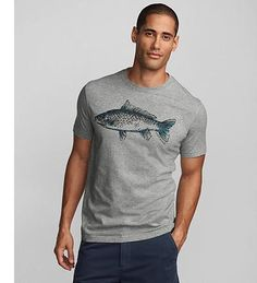 Classic Fit Fish Study Graphic T-Shirt. Find it now here at Eddie Bauer at Watters Creek!