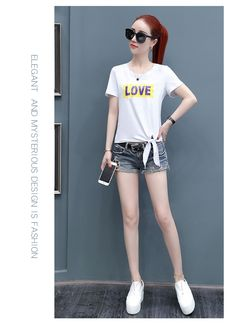 Black And White Tees, Your Design, Sporty, Female, Cute, Outfits, Style, Fashion, Swag