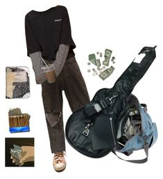 """""""runaway"""" by qommunism on Polyvore featuring Converse"""