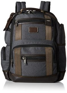 Tumi Alpha Bravo Kingsville Deluxe Brief Pack Anthracite One Size -- Check this awesome product by going to the link at the image. This is an Amazon Affiliate links.