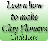 Patty Clay Flowers: Gallery -  Clay flowers/Polymer clay/ clay flower Tools  and cutters available/ Moulding clay/ class /tutorial  Patty Craft & Supplies