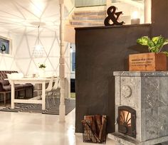 stemning, klebersteinsovn Real Estate, Room, Blue, Furniture, Home Decor, Patio, Bedroom, Decoration Home, Room Decor