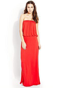 Flounced Maxi Dress | FOREVER 21 - 2000088380