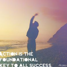 """Awesome pin from our friends at Invisible Children! """"Action is the foundational key to  all success."""""""