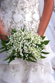 Lily of the Valley ~ wedding ❤ bouquet for bridesmaids