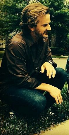 Richard Speight Jr. I don't care what anyone else says, this man is just as beautiful as the 3!!