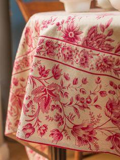 Snapdragon Watercolor Tablecloth | Linens U0026 Kitchen, Tablecloths :Beautiful  Designs By April Cornell | Tablecloths | Pinterest | Kitchen Tablecloths,  April ...