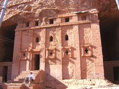 AFRICA | Lalibela, Ethiopian rock-hewn Bet Gabriel-Rufael church